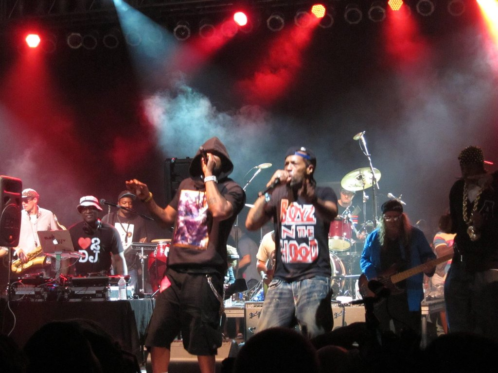 Lettuce Bonnaroo Hip Hop Superjam with Method Man & Redman