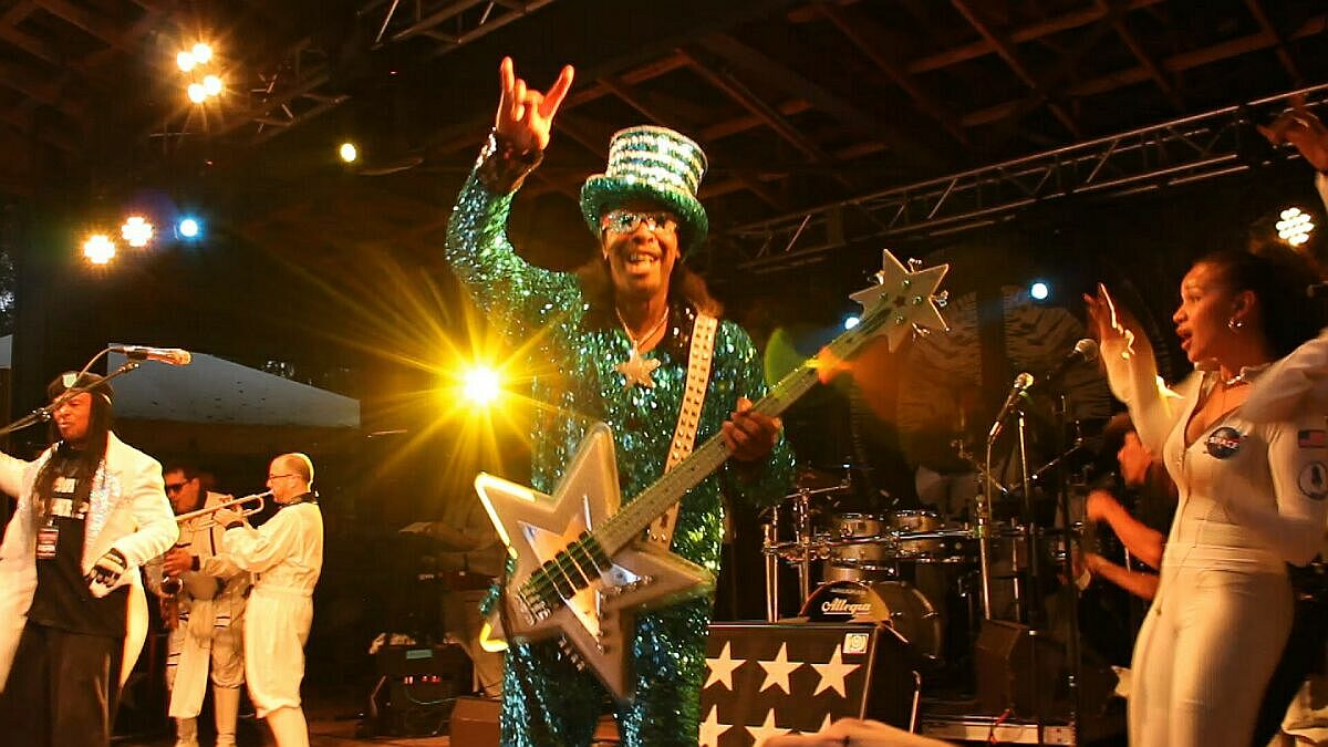 Bootsy Collins at Bear Creek Music Festival