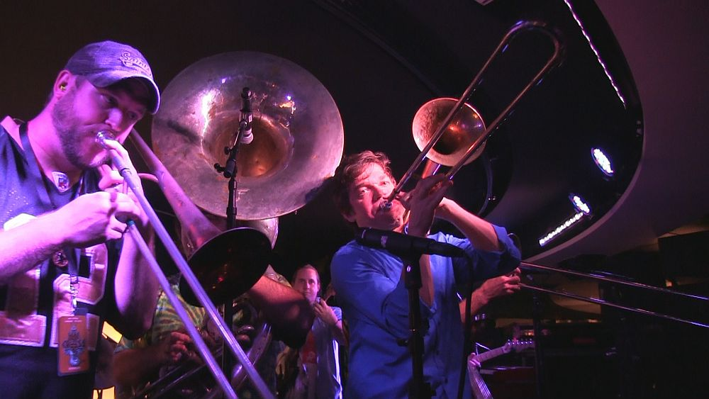 Bonerama Horns - Jam Cruise Jam Room 2014
