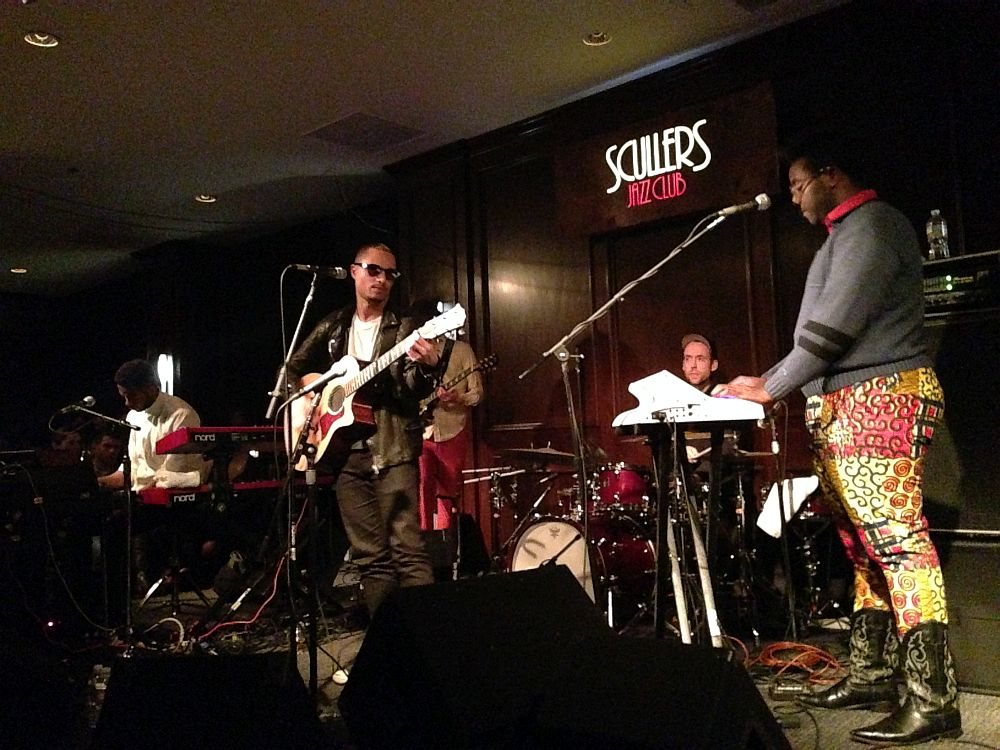 Jose James - Sculler's Jazz Club