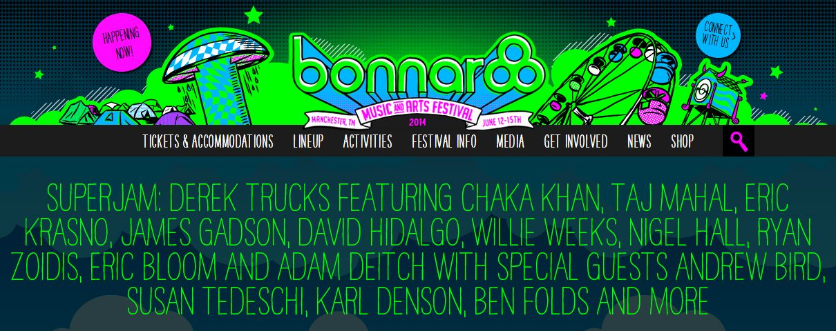 Bonnaroo SuperJam
