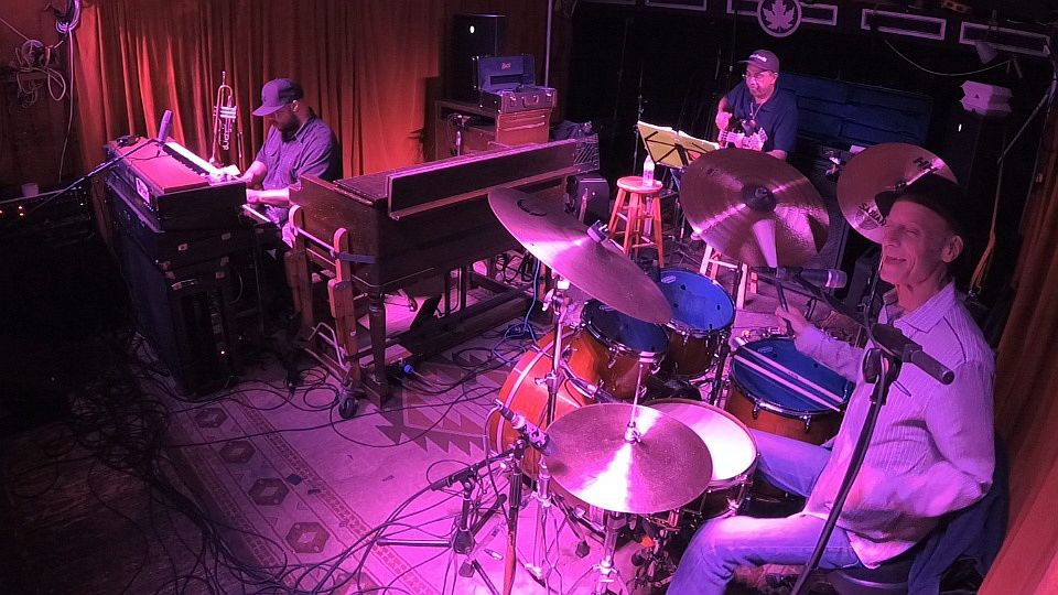 Johnny Vidacovich, Nicholas Payton, Chris Severin, Maple Leaf, New Orleans